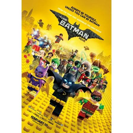 The Lego Batman Movie Movie Poster  27 X 40