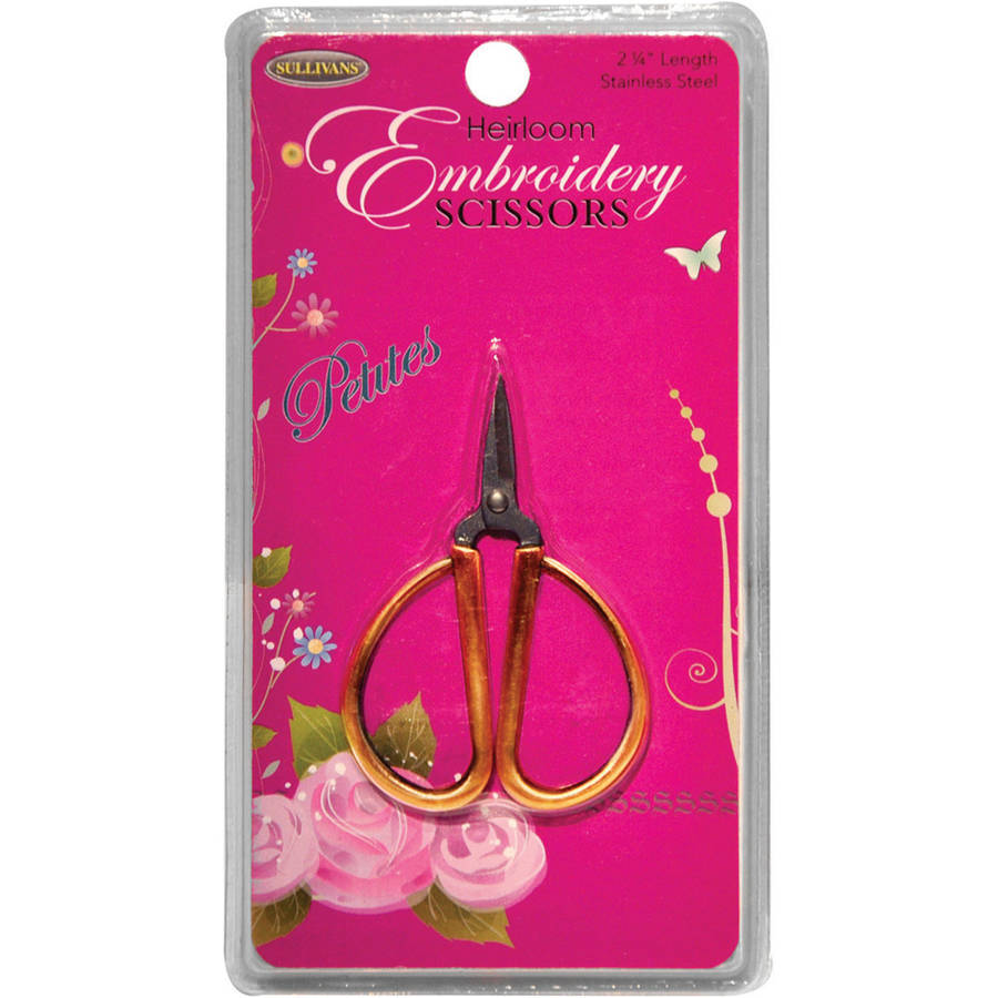 "Petites Embroidery Scissors, 2.25"", Gold"