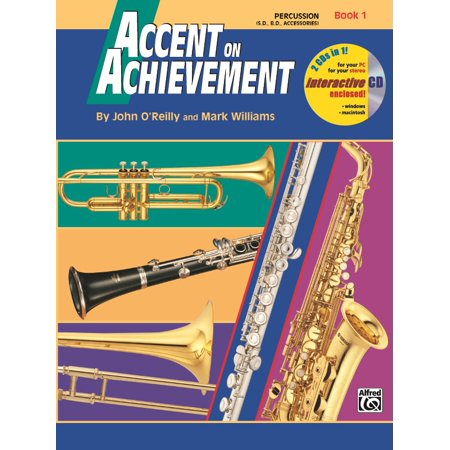 Accent on Achievement, Book 1,Snare Drum, Bass Drum & Accessories,