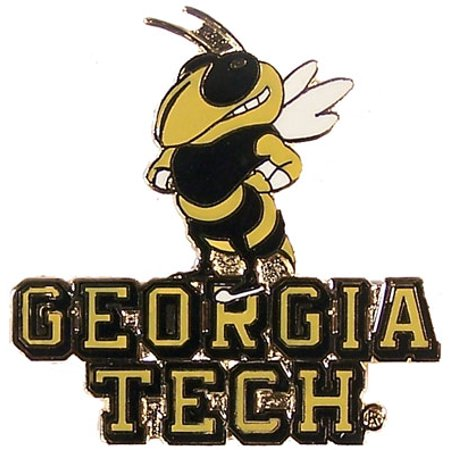 - Georgia Tech Mascot Pin
