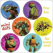 Teenage Mutant Ninja Turtles Mini Dots Stickers - Birthday Party Supplies & Favors - 450 per Pack