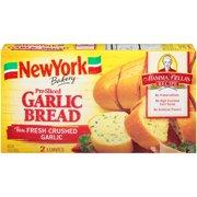 New York Bakery Mamma Bella's Recipe Pre-Sliced Garlic Bread 14 oz. Box