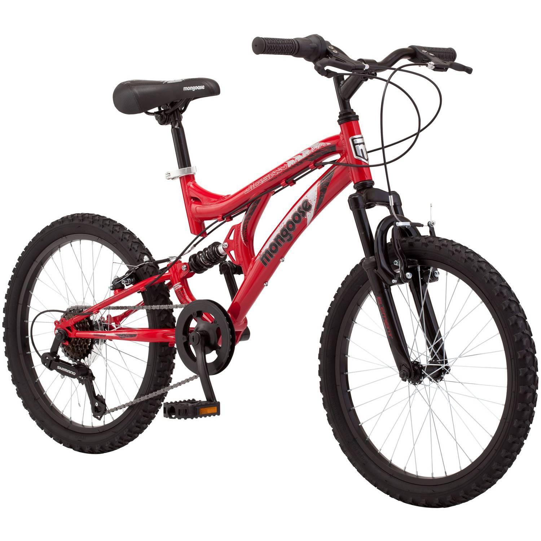 Pacific Cycle 20 Mongoose Jigsaw Boys' Mountain Bike