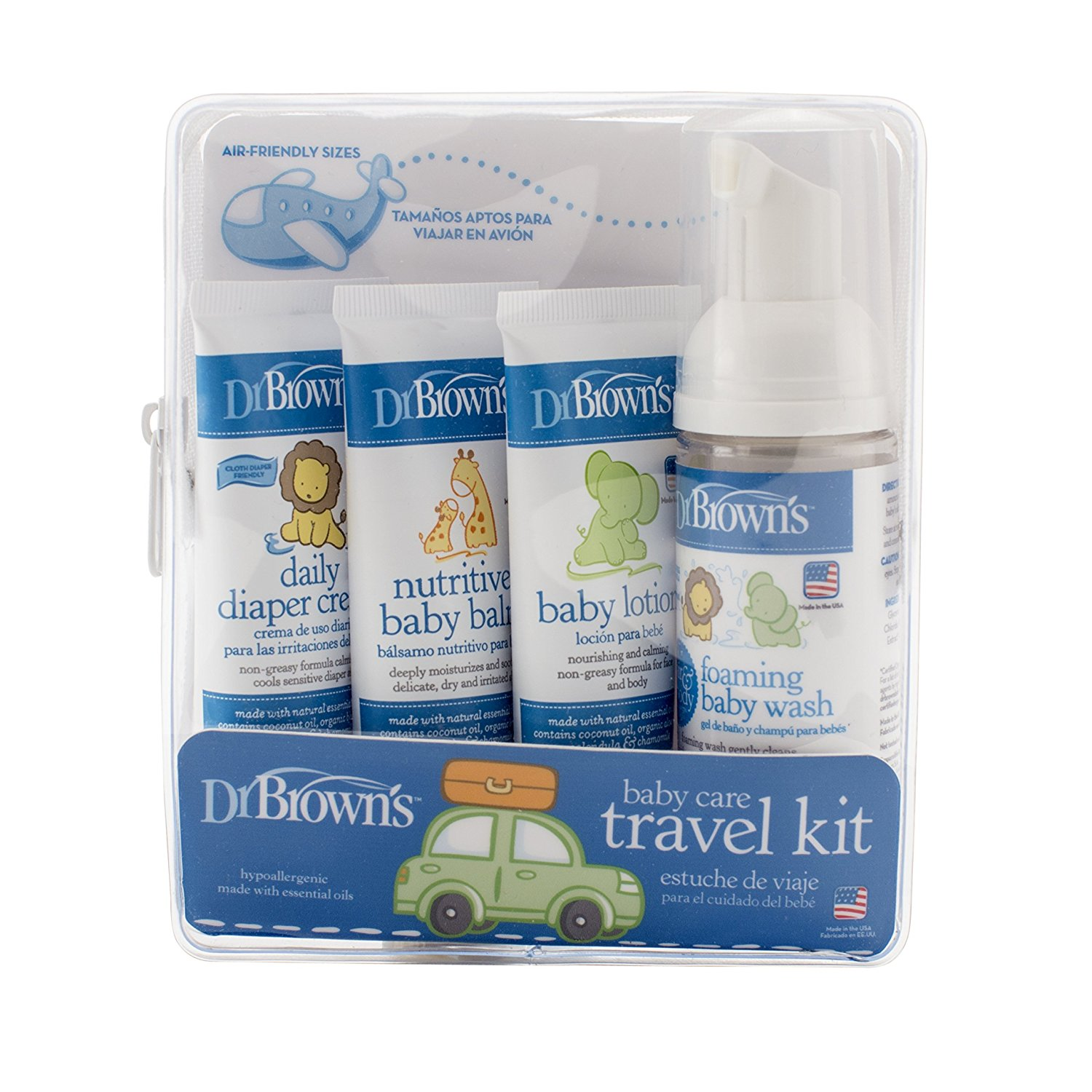 Dr. Brown's Skin Care Travel Kit by Dr. Brown%27s