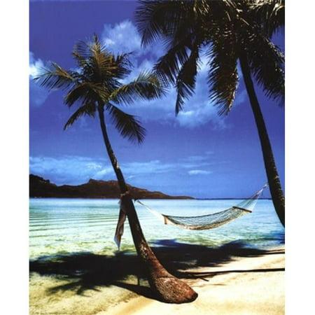 Posterazzi IMPSX0052R Beach Hammock Poster Print - 16 x 20 in. - image 1 de 1
