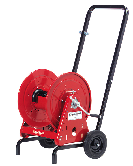 Reelcraft 600966 Hose Reel Assembly w  Cart by Reelcraft