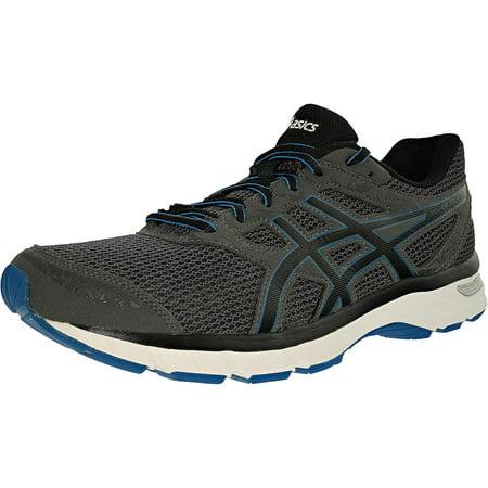 Asics Men's Gel-Excite 4 Carbon/Black/Electric Blue Ankle-High Running Shoe - -