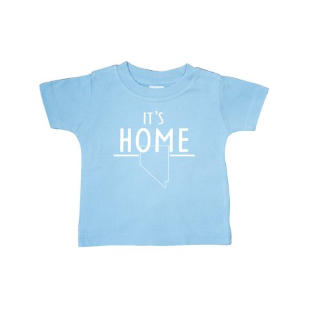 It's Home- State of Nevada Outline Baby T-Shirt