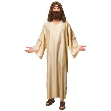 Jesus Robe Adult Costume - Standard - Jesus Costume Ideas