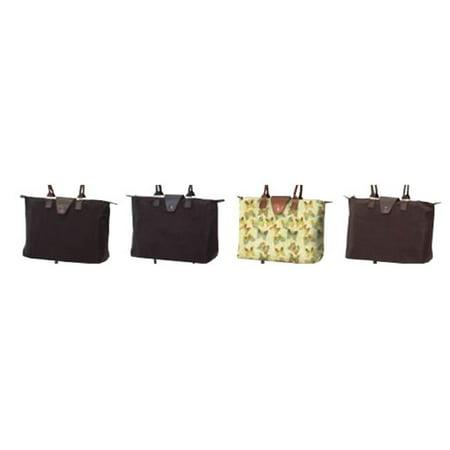 Joann Marie Designs Nf3bu Lng Hndl Fold Up  Burgundy Black Hdl Pack Of 2