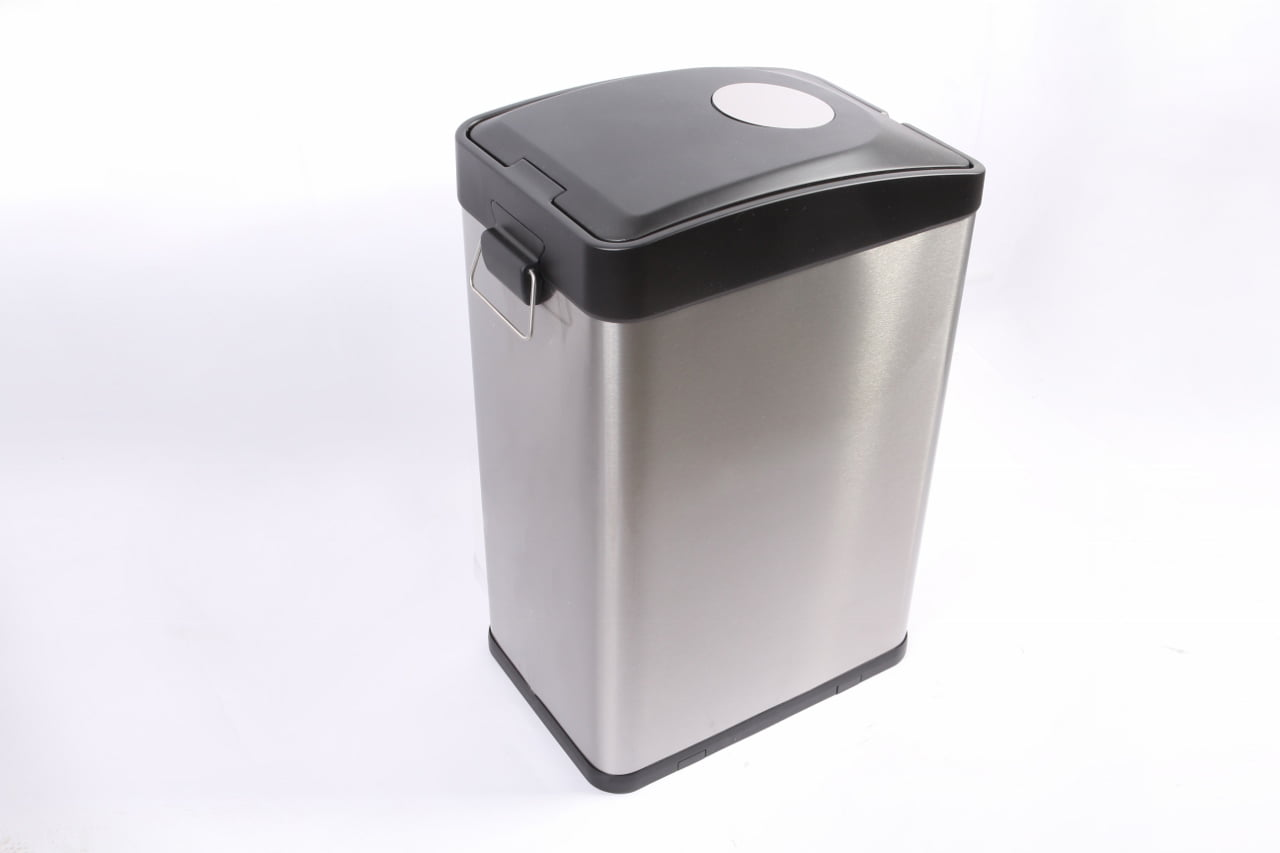 Click here to buy Better Homes and Gardens 30L Stainless Steel Rectangle Recycling Trash Can by C. Y. HOUSEWARES (DONGGUAN) CO LTD.