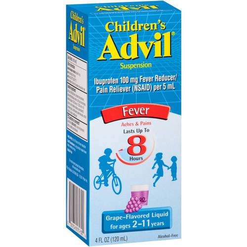 Advil Children's Suspension Liquid-Grape-4 Oz