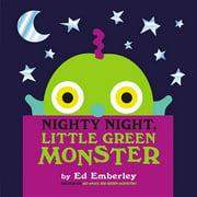 Nighty Night, Little Green Monster (Hardcover)