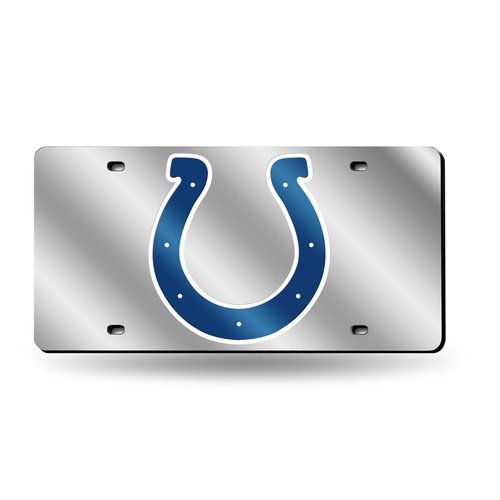 NFL Indianapolis Colts Laser-Cut License Plate