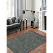 Hand-Tufted Saint Thomas Dove Gray Blended New Zealand Wool and Art Silk Rug (7'6 x 9'6)