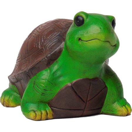 Mainstays Turtle Statue, Green/Brown