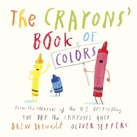 Crayons Book of Colors (Board Book)