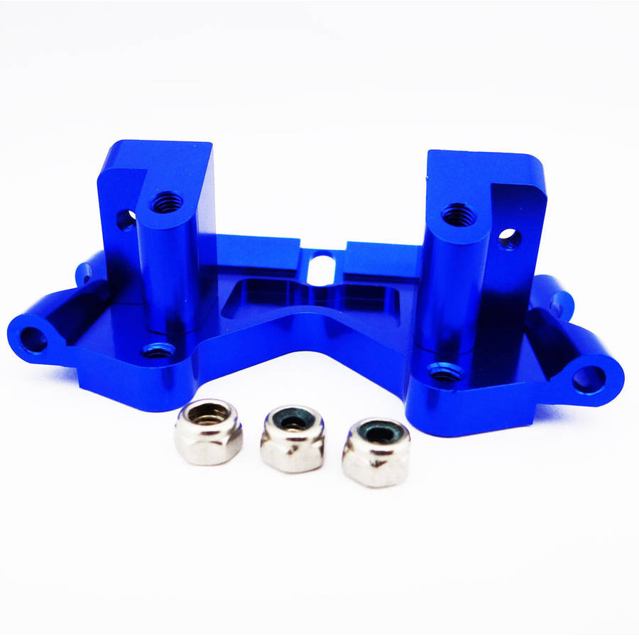 Atomik Alloy Front Lower Arm Mount Traxxas Slash 2WD, 1:10, Blue