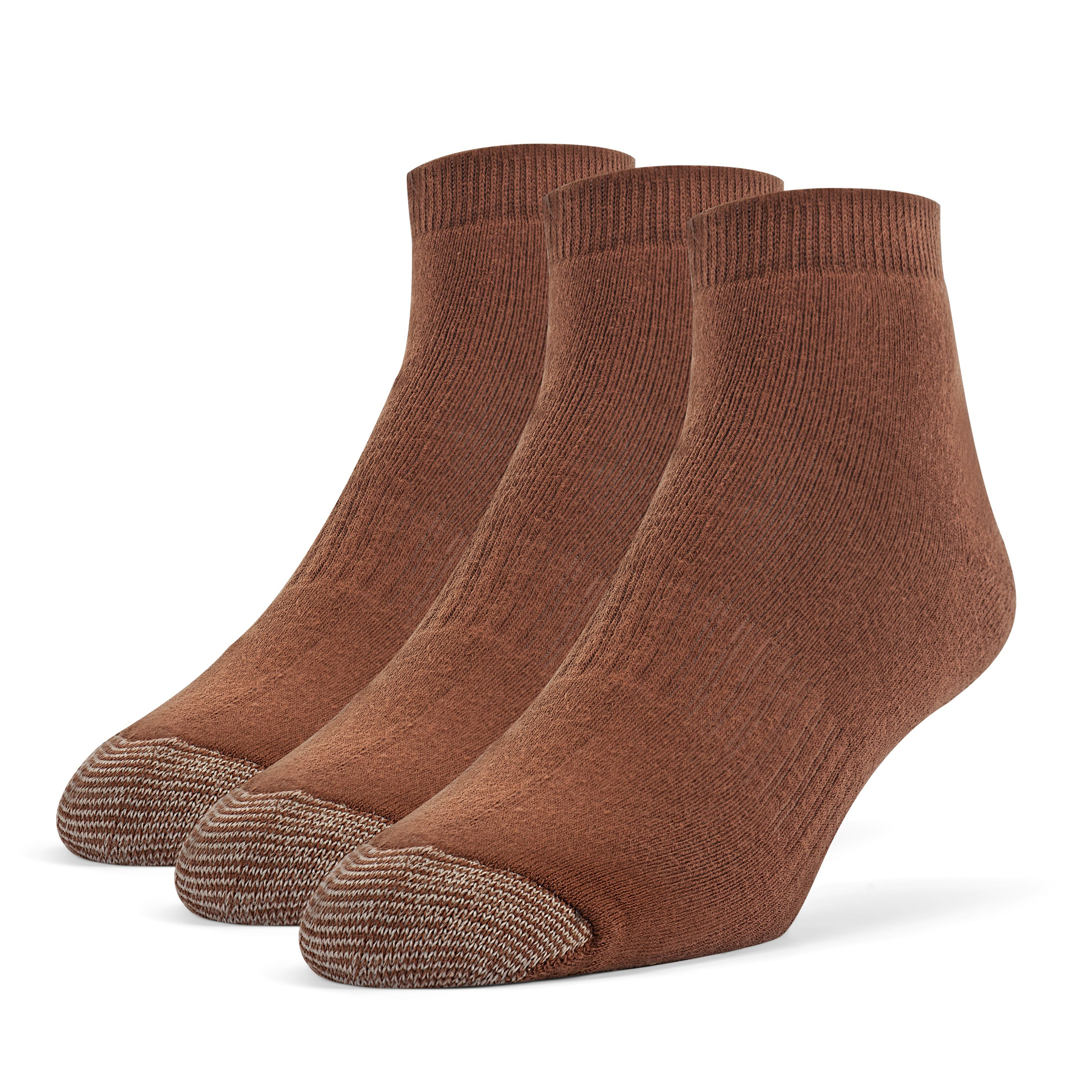 Women's Cotton Extra Soft Ankle Cushion Socks - 3 Pairs