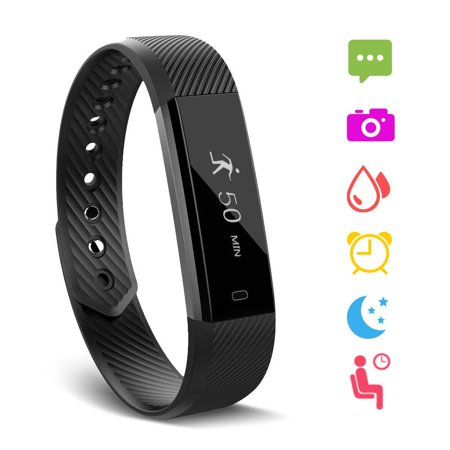 - Fitness Tracker, Waterproof Activity Tracker with Heart Rate Monitor Bluetooth Multiple Sport Modes Smart Watch Wireless Smart Bracelet Sleep Monitor Pedometer Wristband for Kids Women Men