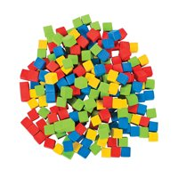 Counting Cubes- 1Cm - Educational - 200 Pieces