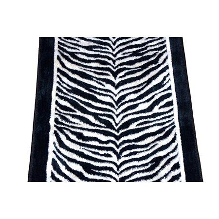 Dean Tanzania Onyx Zebra Stair or Hall Premium Nylon Carpet Runner Rug 27