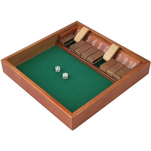 Shut the Box Game with 10 Numbers