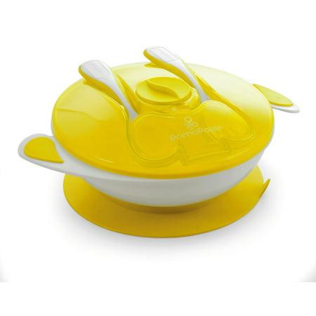 Primo Passi Suction Bowl Feeding Set, Yellow - Baby Cosplay Ideas