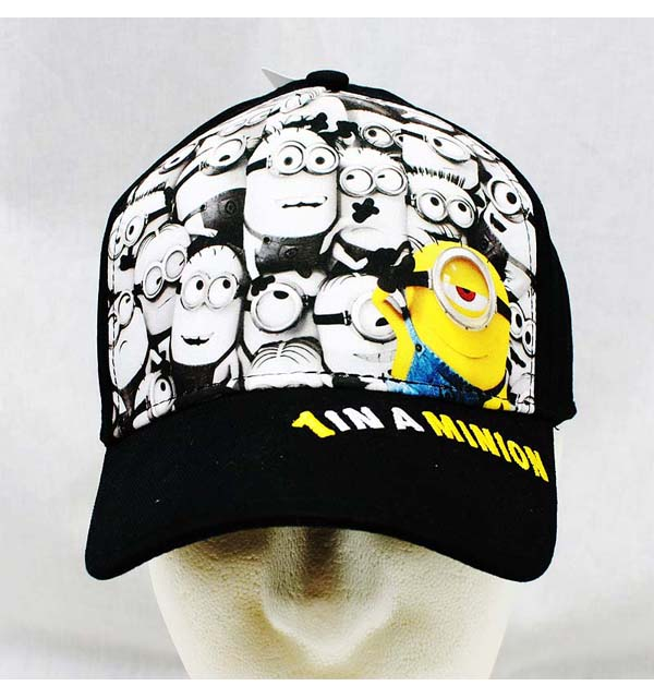 Baseball Cap - Despicable Me - 1 In a Minions New Youth/Kids Hat dl19280