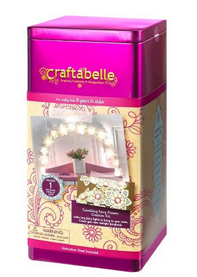 Craftabelle Lacy Fairy Lights Kids Craft by Craftabelle