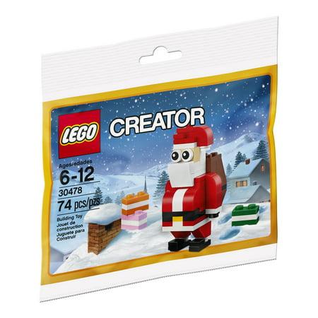 - LEGO Seasonal Jolly Santa 30478