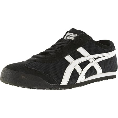 outlet store 21f47 8b6e5 Onitsuka Tiger Mexico 66 Black/Off-White Ankle-High Leather Fashion Sneaker  - 13.5M / 12M