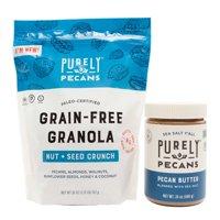 Purely Pecans Grain-Free Granola & Pecan Butter