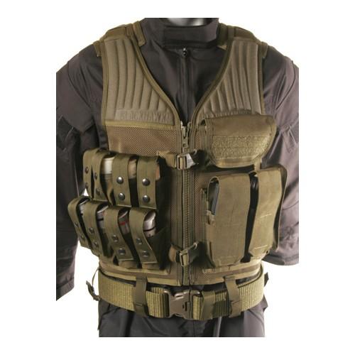 Image of BLACKHAWK! 30EV29OD Olive Drab Nylon Mesh Omega Elite 40MM/Rifle Magazine Vest