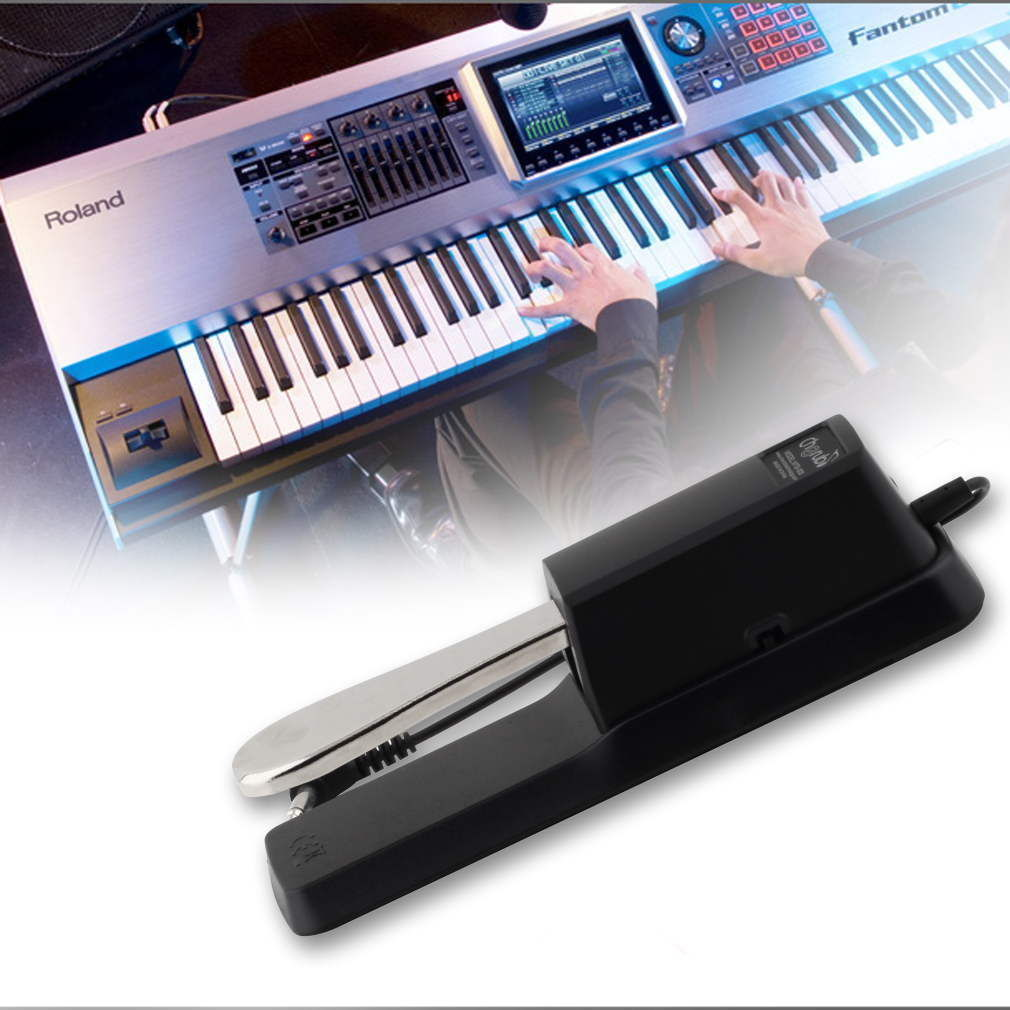 Durable Piano Keyboard Sustain Pedal Damper for Casio Yamaha More US by konxa