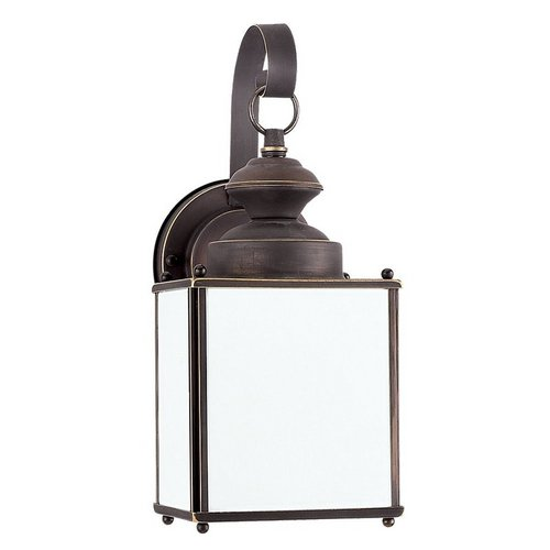 Sea Gull Lighting 84157D Jamestowne 1 Light Outdoor Lantern Wall Sconce