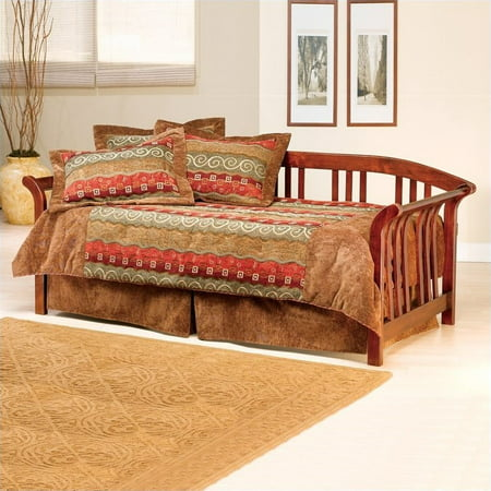 (Hillsdale Furniture Dorchester Daybed with Trundle, Brown Cherry)