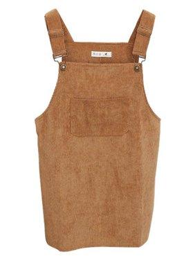 0cdd223c110fd Product Image Nicesee Women s Petie Corduroy Suspender Jumpsuit Vest Dress