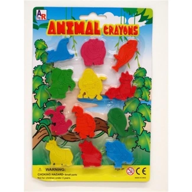DDI 2267066 Plastic Animals Crayons by DDI