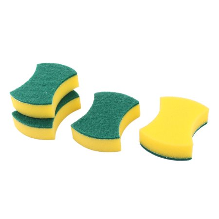 Home Sponge Bowl Plate Washing Tool Pot Pan Dishes Cleaning Pad Brush 4pcs - image 3 of 3