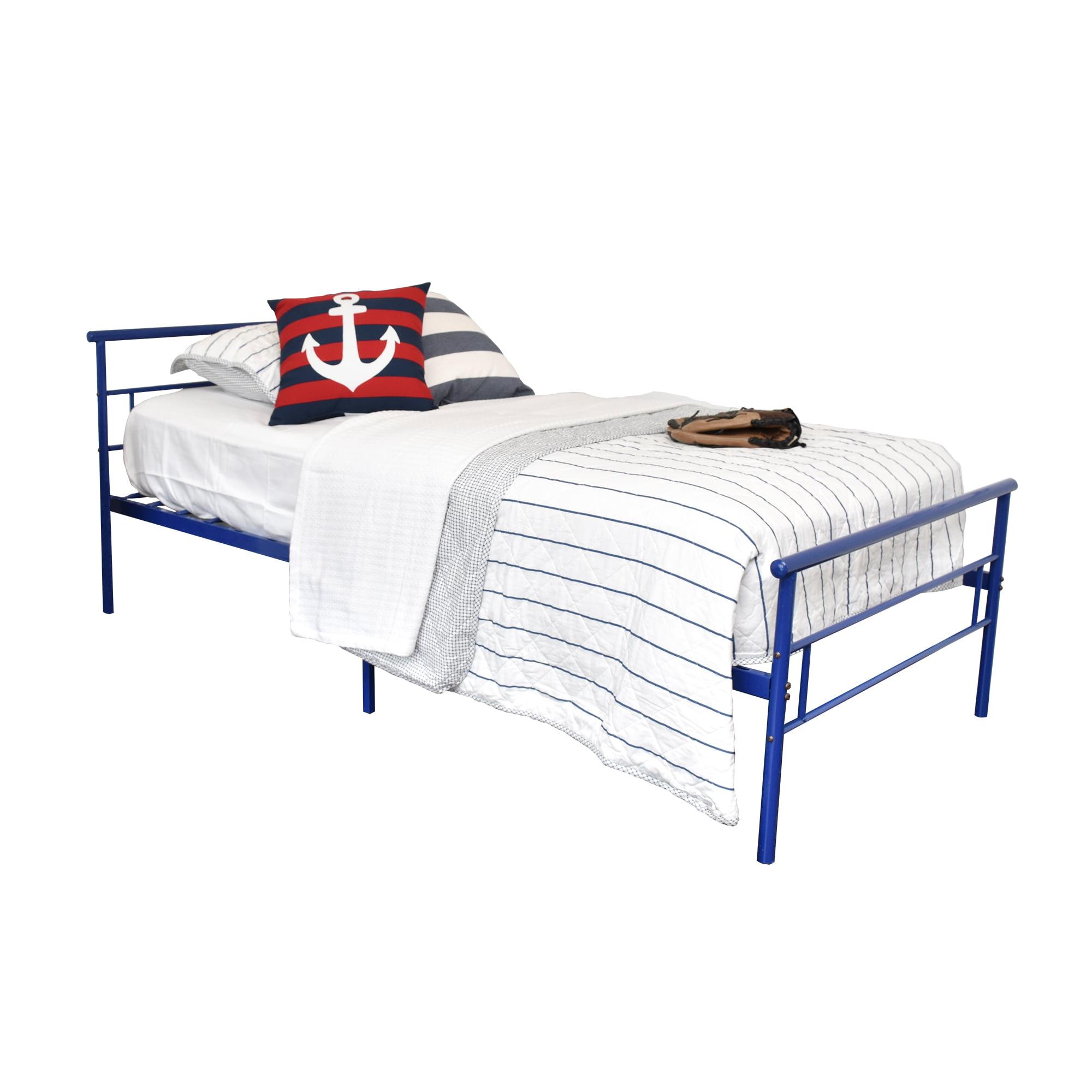 Black Rack Furniture Seattle Metal Twin Bed
