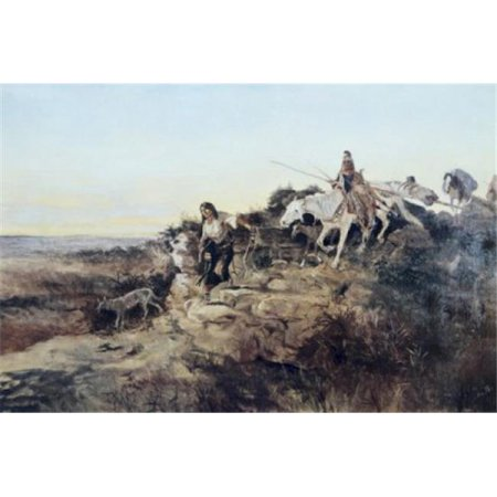 Posterazzi SAL900102734 Return From Hunt Charles Marion Russell 1865-1926 American Poster Print - 18 x 24 in. - image 1 of 1