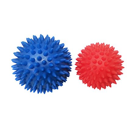 Rhino Balls by Body Back Company - Hard Spiky Massage Ball Set, Massager Tools & Travel Accessories for Plantar Fasciitis, Trigger Point Therapy on Foot, Hands & (Best Travel Rhino Of The Doors)
