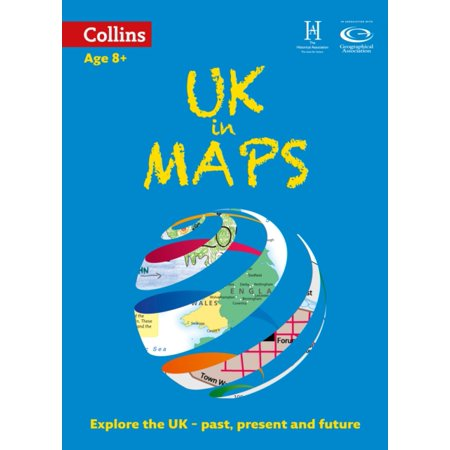 Uk In Maps  Collins Primary Atlases   Paperback