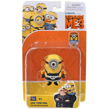 Despicable Me 3 Jail Time Mel Action Figure - Tim Minion