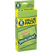 Wrigley's Doublemint Gum, 15 Sticks (Pack of 8)