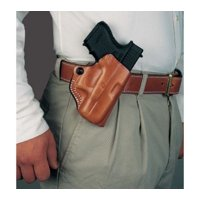 DeSantis Mini Scabbard Belt Holster for Taurus PT111/PT140 Millennium G2, Black,