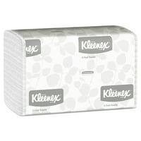 Kleenex C-Fold Paper Towels, 10 1/8 x 13 3/20, White, 150/Pack, 16 Packs/Carton -KCC01500