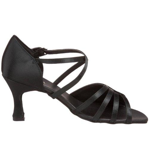 Sansha Women's Nina Ballroom Shoe,Black,10 M US Women's