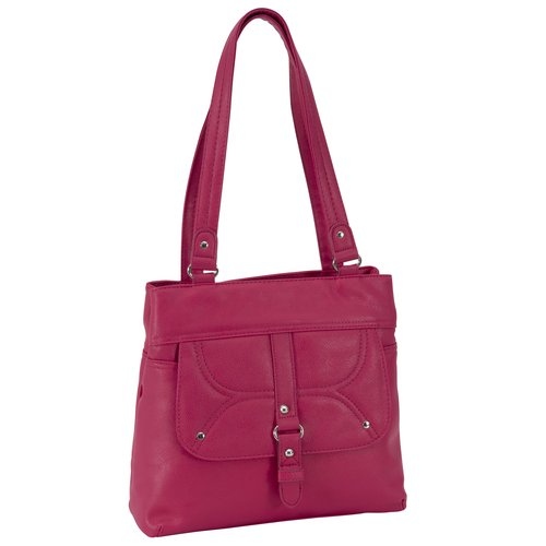 George Pebble Shopper Handbag, Pink